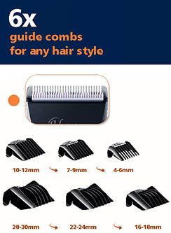 hatteker clipper guide combs