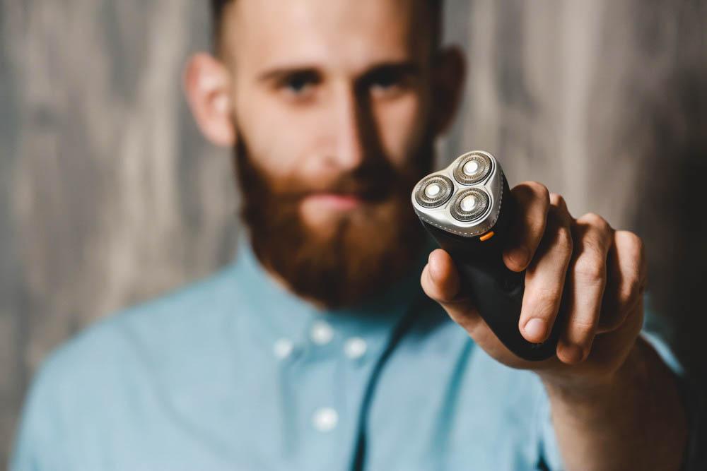 rotary shaver for men