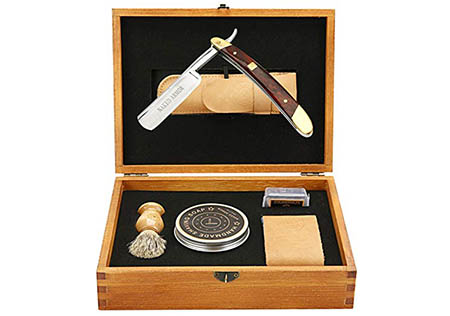 Naked Armor Straight Razor Kit