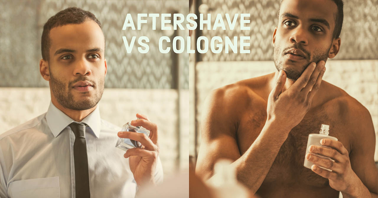 Aftershave vs Cologne