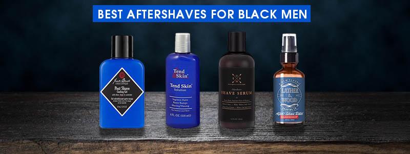 Best Aftershaves for Black Men