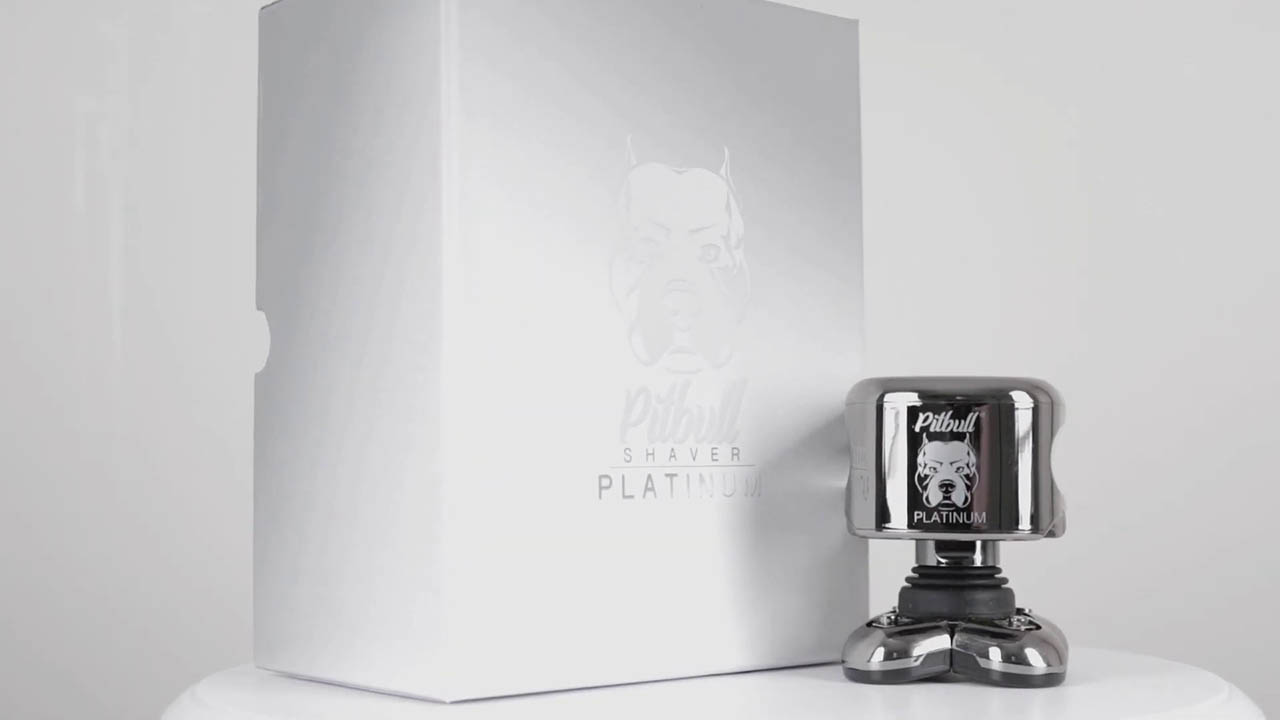 Skull Shaver Pitbull Platinum Design