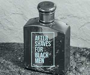 black men after shaves