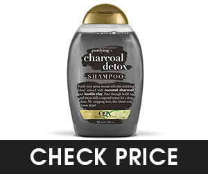 10 - OGX Charcoal Detox Shampoo