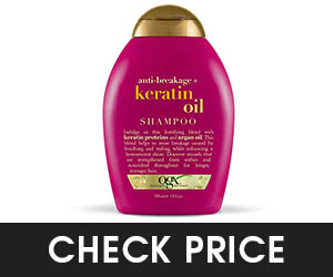 9 - OGX Keratin Oil Shampoo