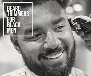 Black Men Beard Trimmer