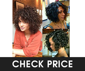 9 - Formal Hair Short Curly Bob Wigs