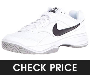 10 - NIKE Men's Court Lite Tennis Shoes