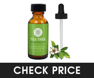 8 - Pure body naturals tea tree oil