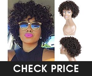 3 - UDU Short Curly Hair Wigs