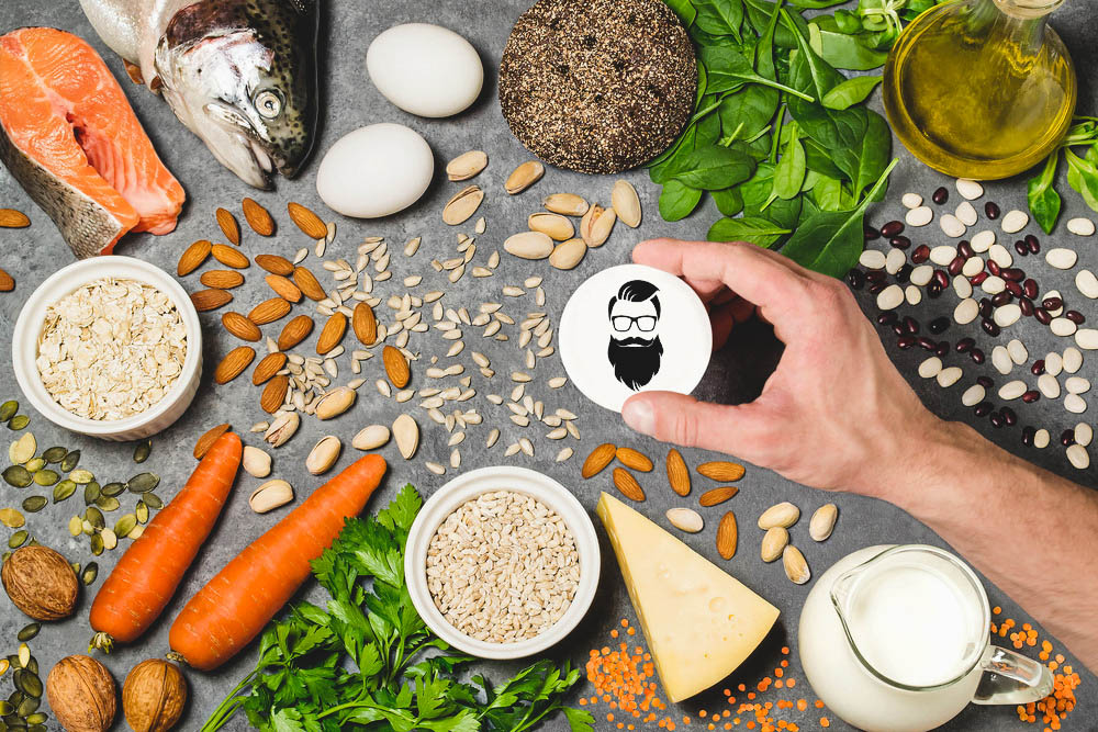 nutrients that are good for beard hair