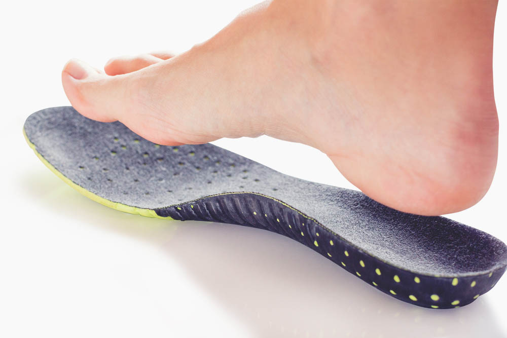 orthotic insole of the Shoe