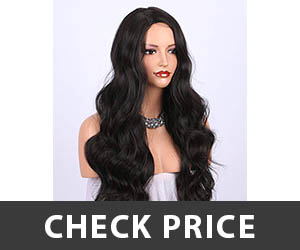 K'ryssma Dark Brown Synthetic Wig