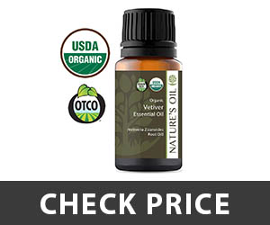 Nature's Oil Vetiver Essential Oil