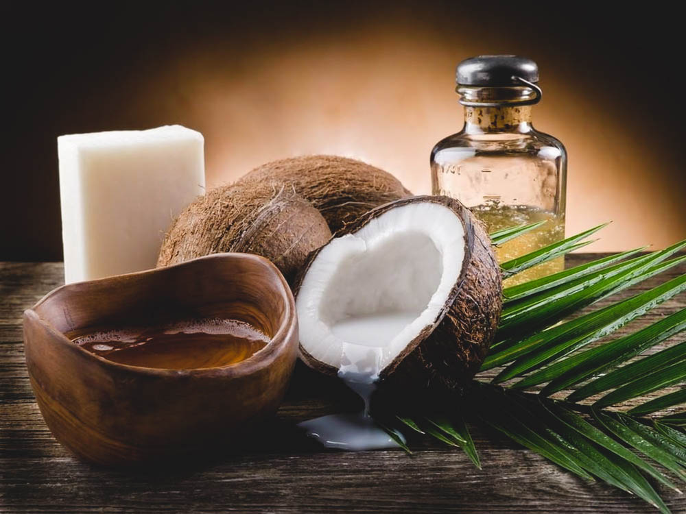 coconut oil use in hair growth products