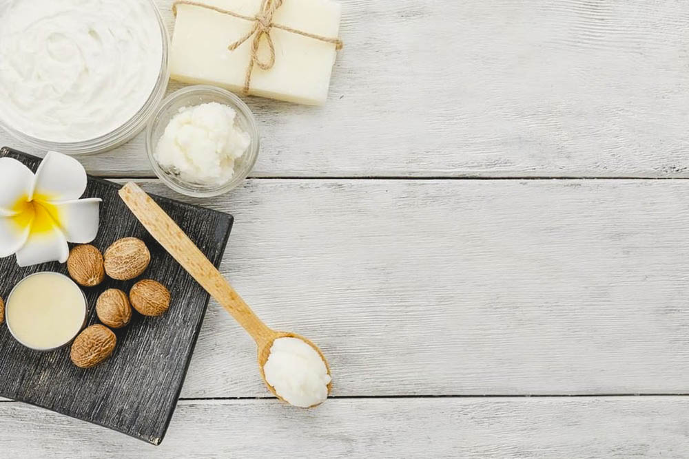 moisturizing calluses with shea butter