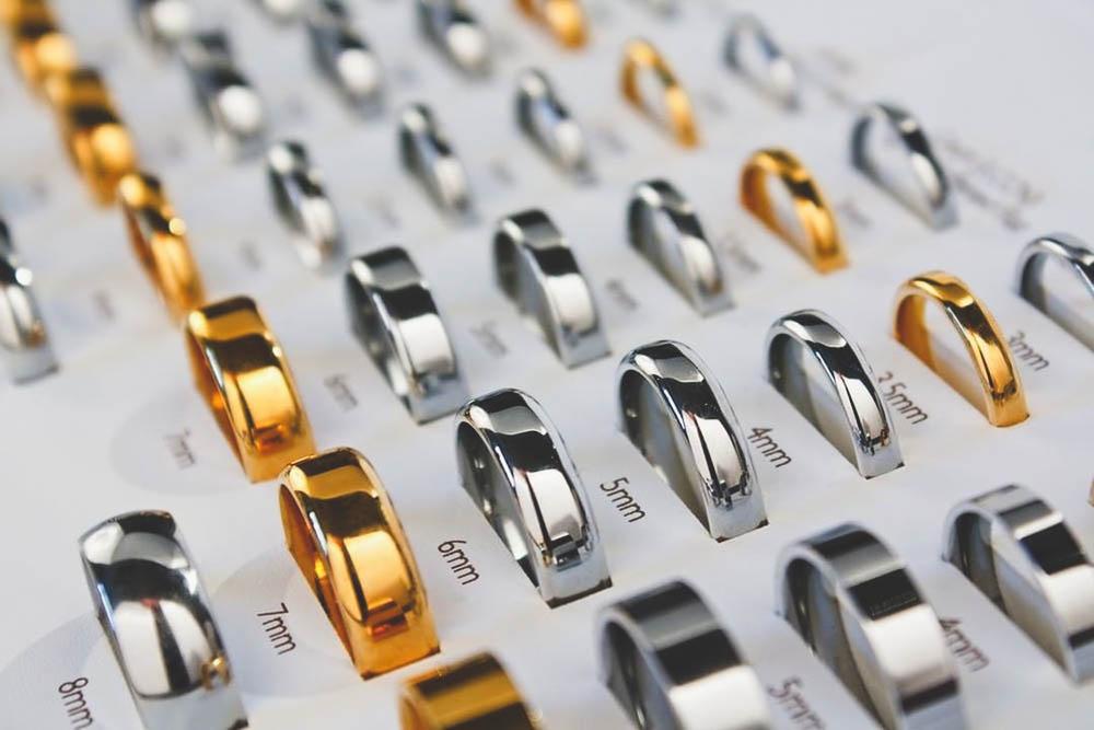wedding rings widths for men