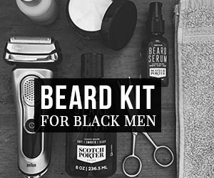 Beard Kit For Black Men 2019