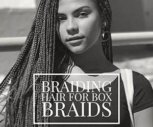 Braiding Hair For Box Braids