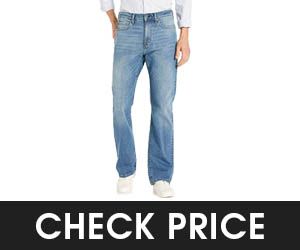 Amazon Essentials Men's Straight-fit Stretch Bootcut Jean