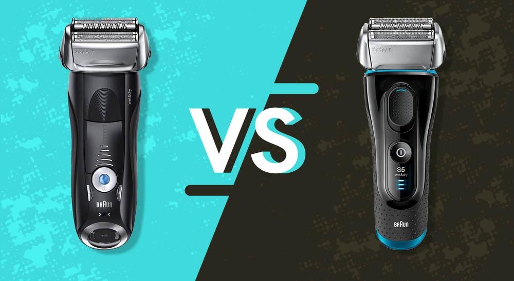 Braun series 7 vs 5