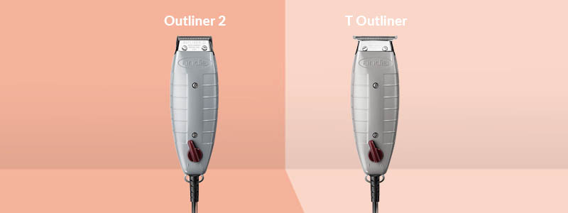 Andis Outliner 2 vs T Outliner