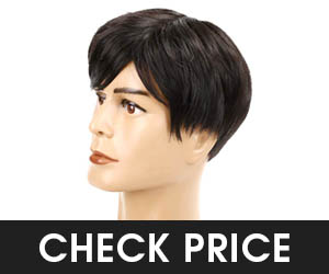 Baruisi Mens Short Wig