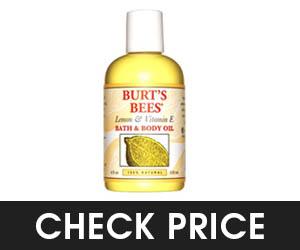 Burt's Bees Lemon Body Oil