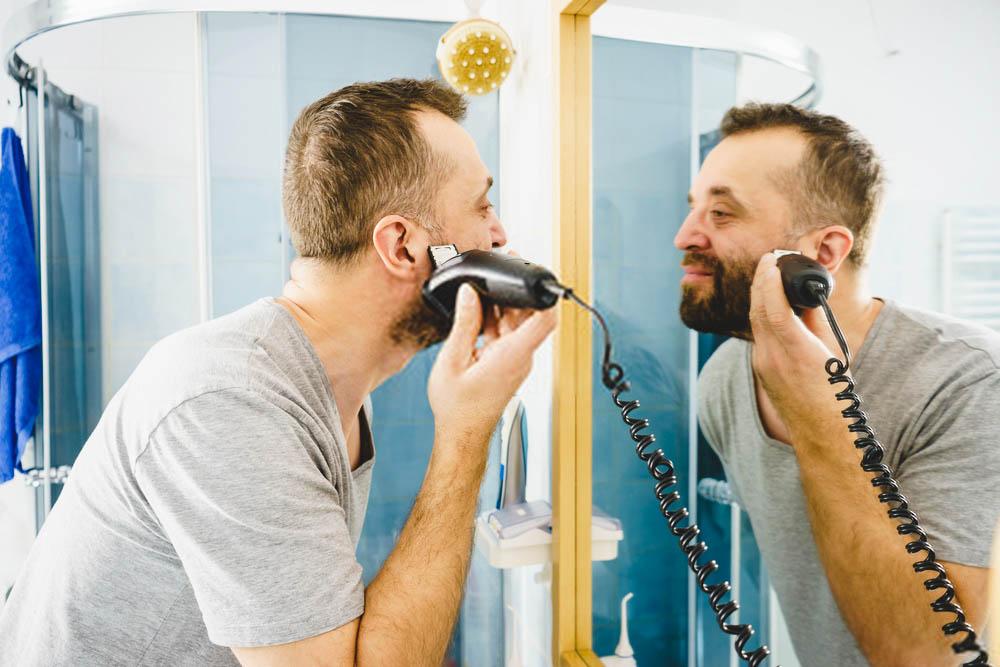bulky cordred beard trimmer