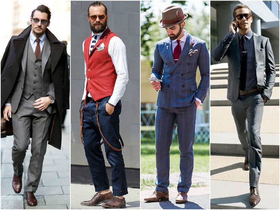 oxford shoes with different outfits