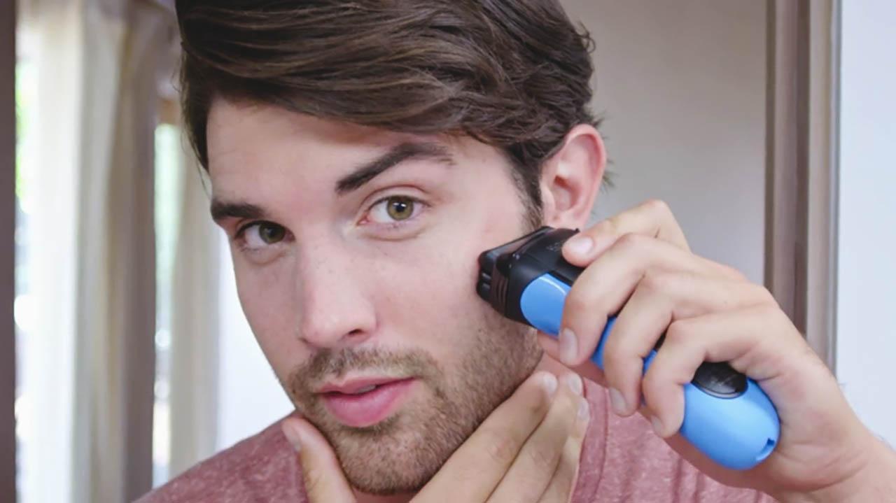 shaving beard with braun 310s