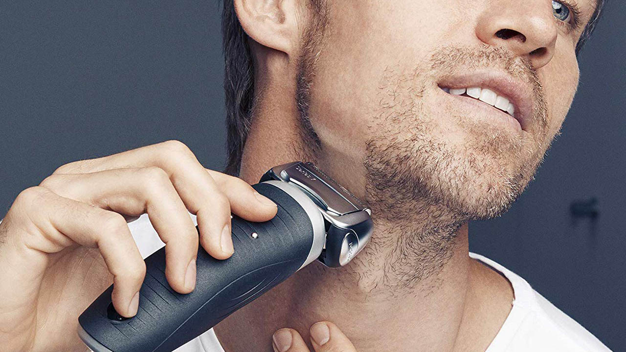 shaving with braun 7893s