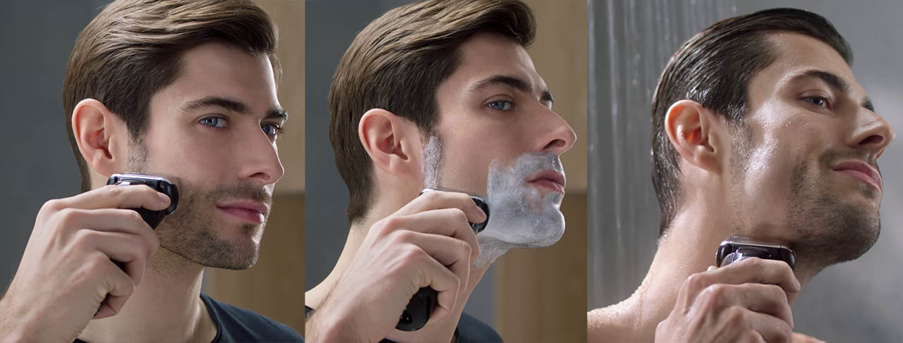 shaving with braun series 5 5145S