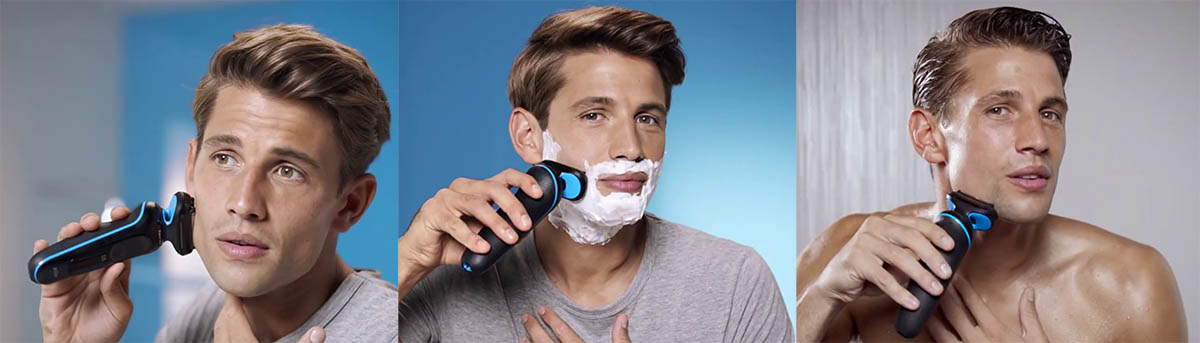 Shaving with Braun 5020s