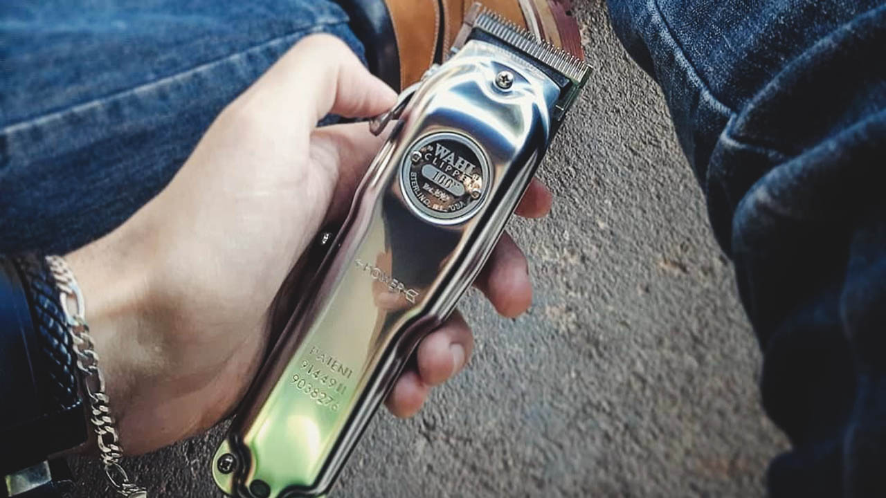 cordless use of wahl 100 year clipper
