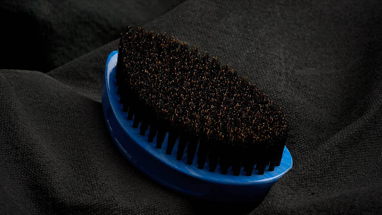 paddle shape wave brush