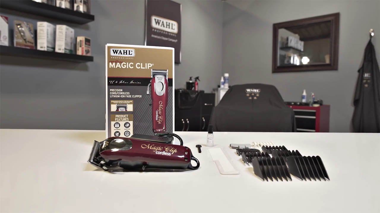 Magic Clip Cordless Accessories & Box
