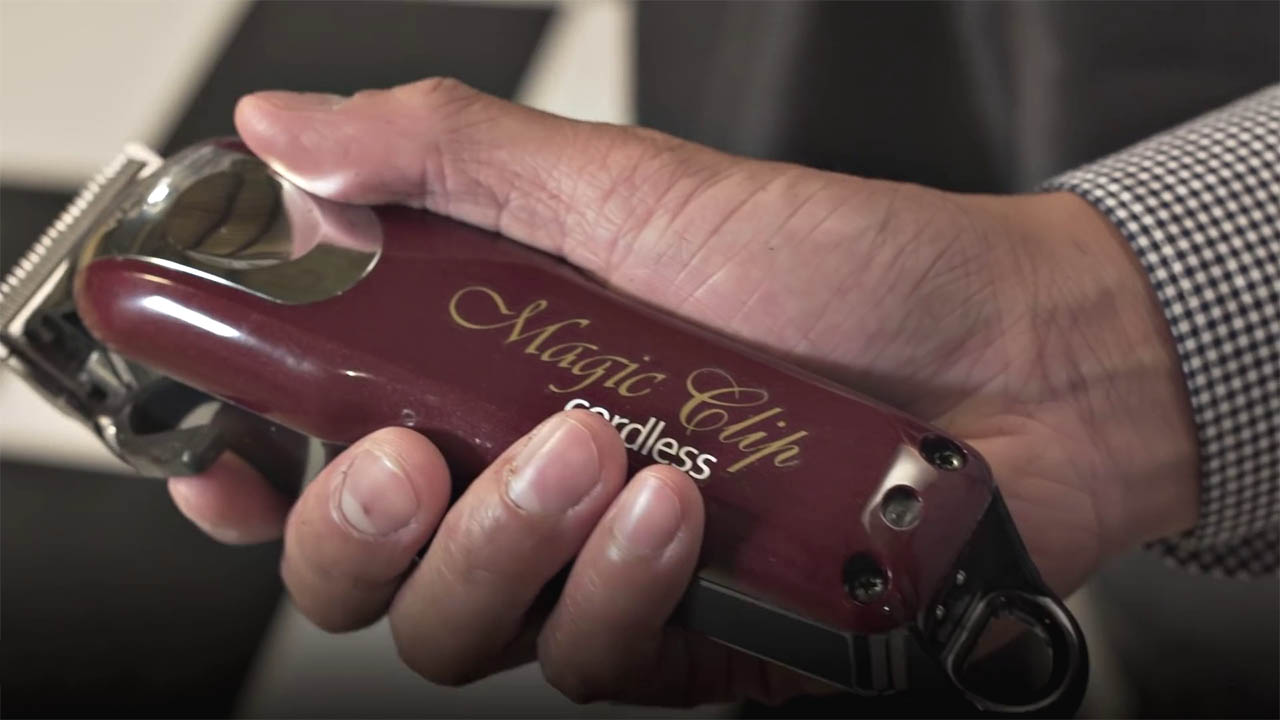 Wahl Magic Clip Cordless Design