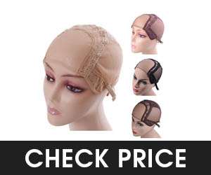 YANTAISIYU U Part Swiss Lace Wig Cap