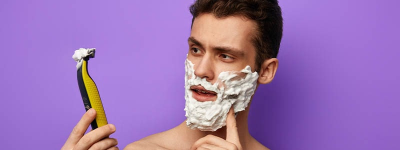 Using Shaving Cream With An Electric Razor