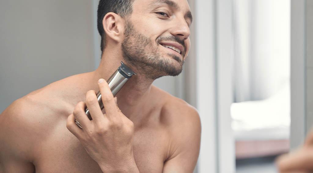 Shaving Ingrown Hairs with Sharp Blades