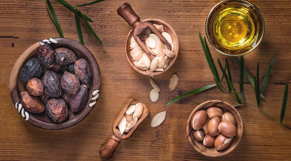 use of argan oil in beard balm