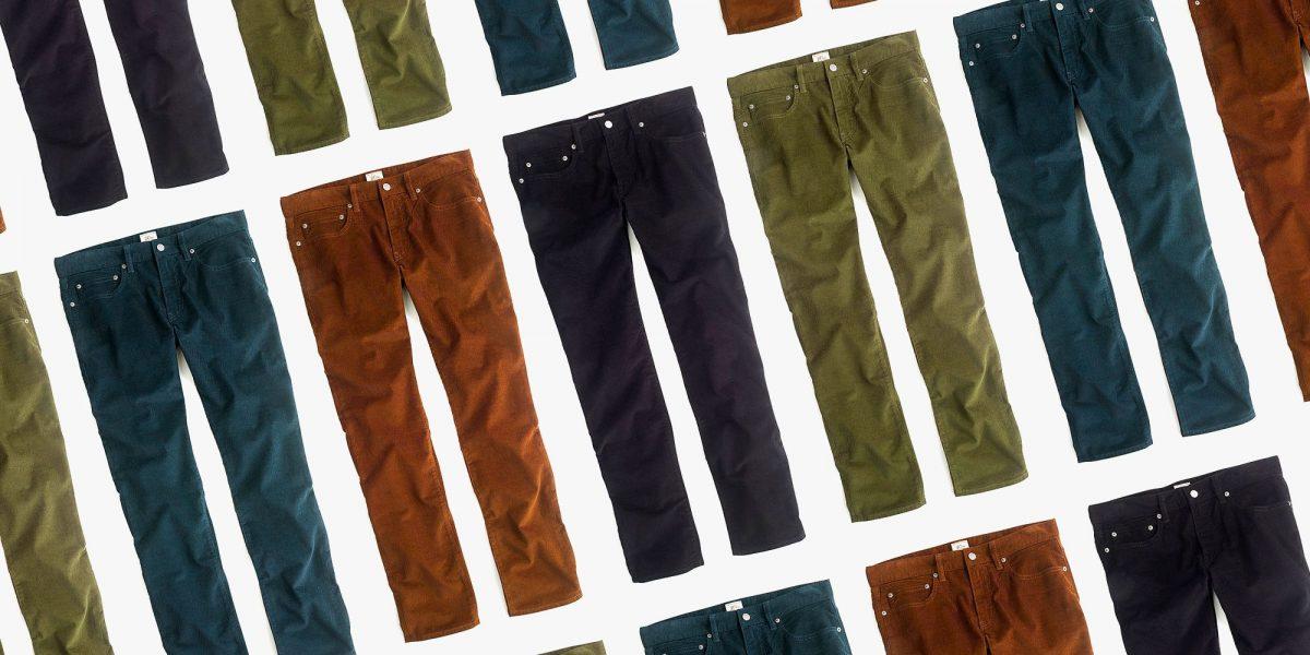 Best Corduroy Pants for Men