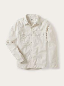 Buck Mason Brushed Flannel Two Pocket Shirt