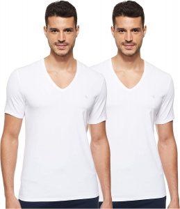Calvin Klein 2-Pack Ck One Cotton V-Neck T-Shirts