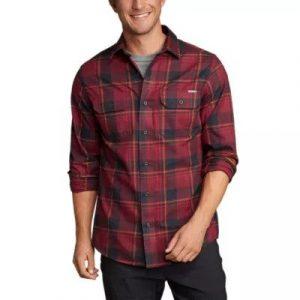 Eddie Bauer Expedition Performance Flannel Shirt
