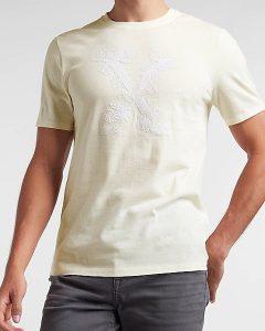 Express Floral Pocket T-Shirt