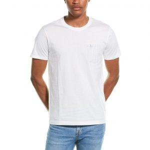 Penguin Geo Dobby Pocket T-Shirt