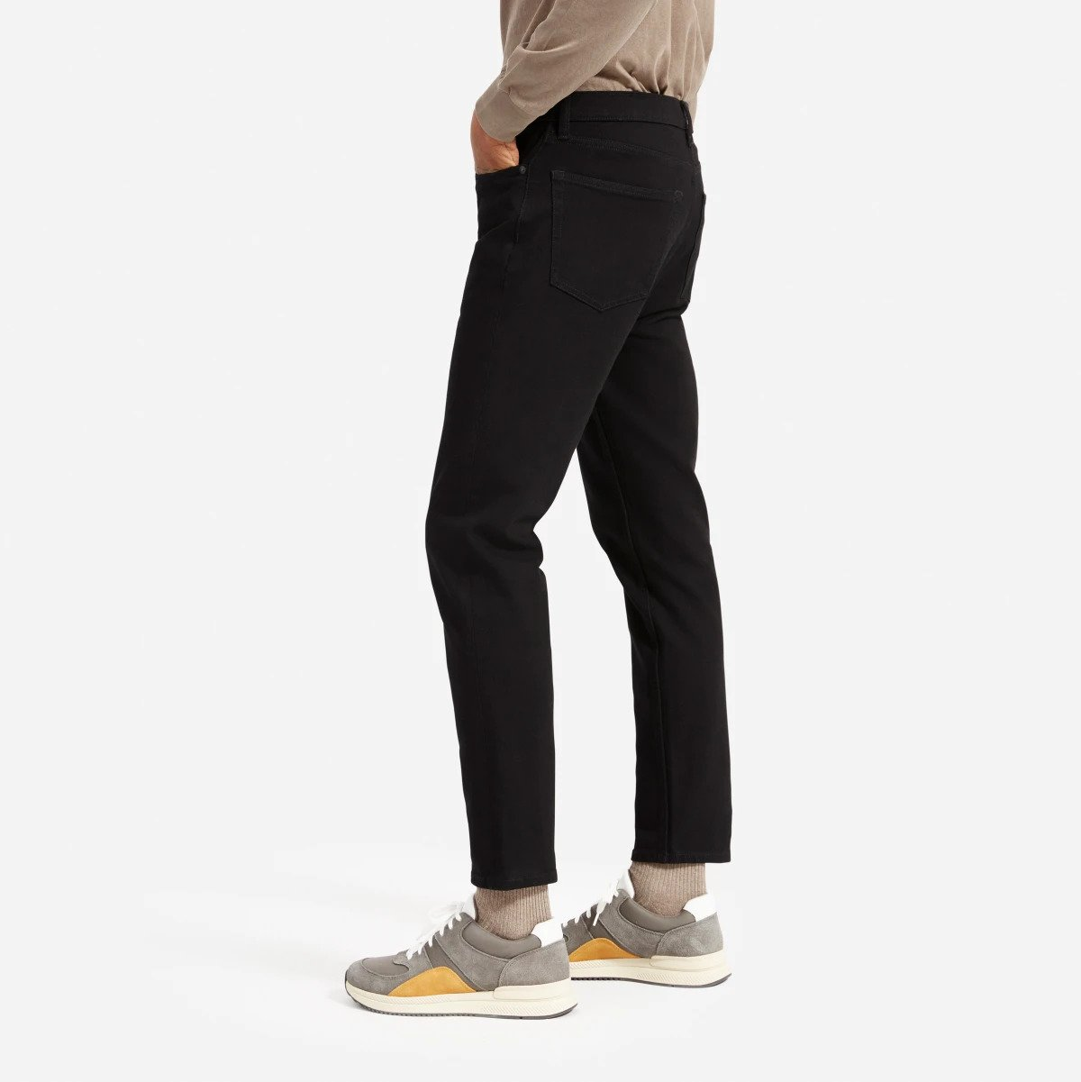 The Relaxed 4-Way Stretch Organic Jean