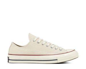 White Converse Chuck 70 Low Top Parchment